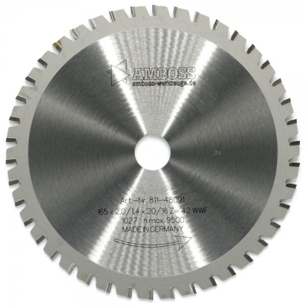 HM Multifunktionsblatt - Ø 165 mm x 2 mm x 20/16 mm | WWF (42 Zähne)