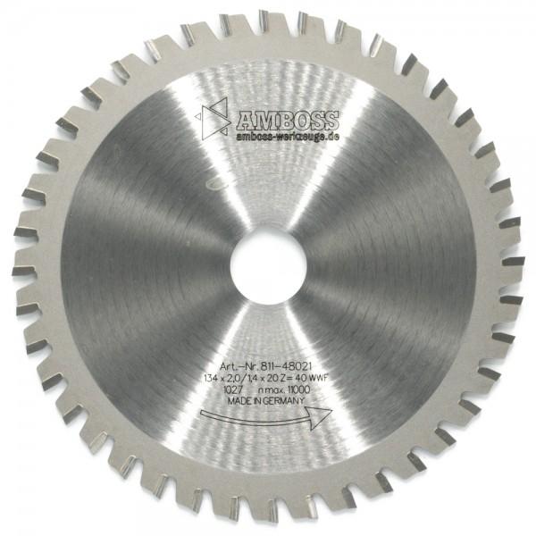 HM Multifunktionsblatt - Ø 134 mm x 2 mm x 20 mm | WWF (40 Zähne)