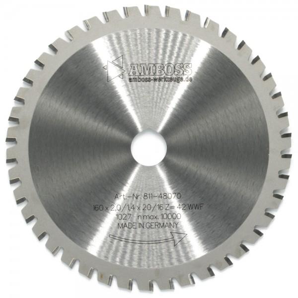 HM Multifunktionsblatt - Ø 160 mm x 2 mm x 20/16 mm | WWF (42 Zähne)