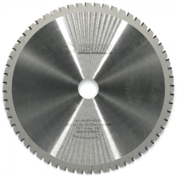 HM Multifunktionsblatt - Ø 250 mm x 2,4 mm x 30/25,4 mm | WWF (60 Zähne)