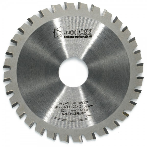 HM Multifunktionsblatt - Ø 120 mm x 2 mm x 25,4 mm | WWF (32 Zähne)